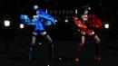 MMD Yoiyoi Kokon - Kimiko and Aska