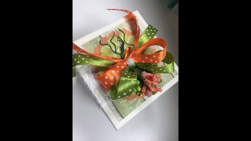 Magic Box коробочка внутрь которой можно положить денежный подарок