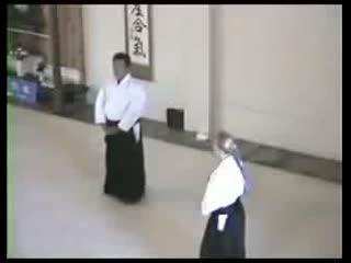 1989, Sunset Cliff Aikido. Saito Sensei.