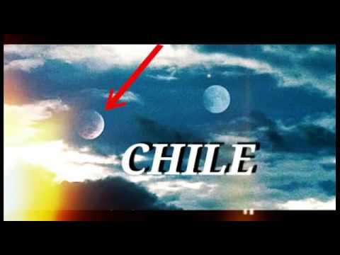 Noticias de Chile estan mostrando a nibiru, la luna, y el sol juntos.
