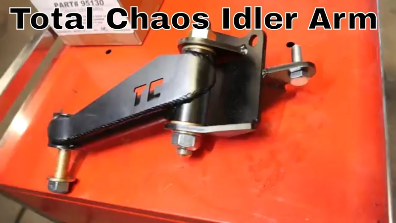 Total Chaos Caddy Idler Arm install - Toyota Pickup 4runner hilux