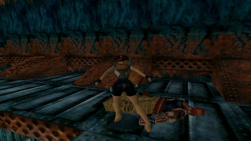 PC Tomb Raider II The Dagger of Xian Pistols Only Level 07 40 Fathoms