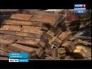 Зона отчуждения. Горы мусора от снесённых двухэтажек превратили двор в Братске в помойку
