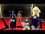 Justice League Girls vs Wonder Woman Justice League Unlimited