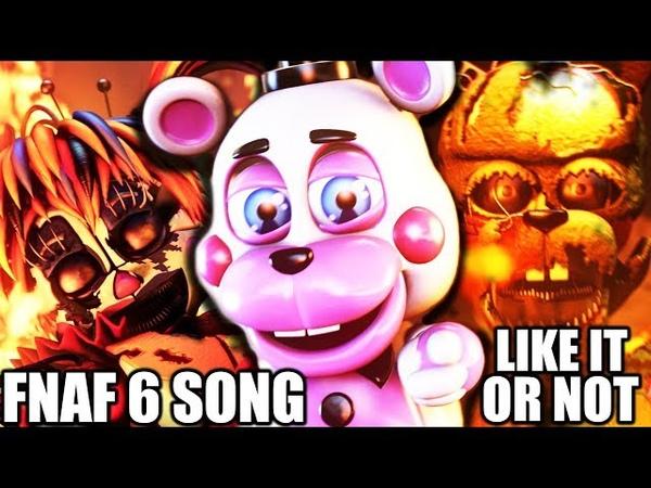FNAF 6 SONG Like It Or Not LYRIC VIDEO Dawko CG5