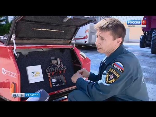 Пожарного-робота собрали саратовские студенты