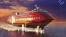 Новое российские судно на подводных крыльях