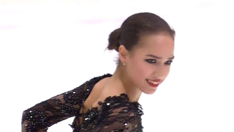 Alina Zagitova Free GP Helsinki 2018 11 3