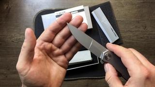 Нож складной RealSteel RS9511 S3 Puukko Duplex, M390 Blade