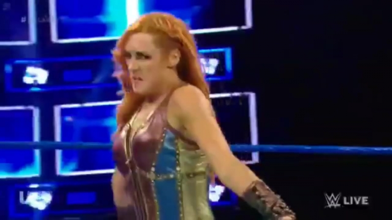 Matches@carmellapage || Becky Lynch vs. Mandy Rose Carmella Paige's segment: SmackDown, July 17, 2018