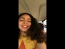 Instagram Story Allegra Acosta