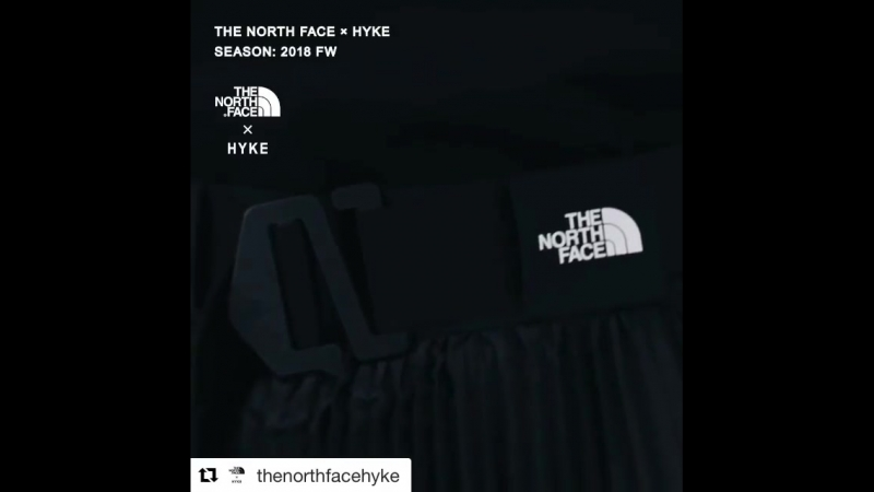 HYKE x The North Face FW18