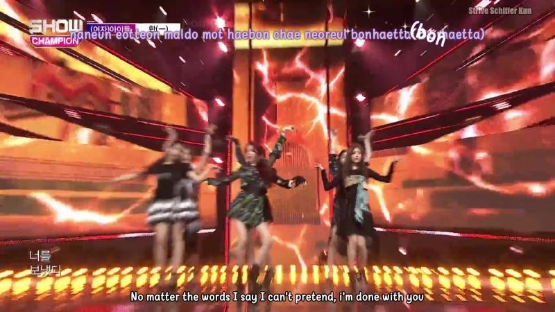 [EngsubKara] Show Champion EP.283 (G)I-DLE - HANN (5 September 2018)
