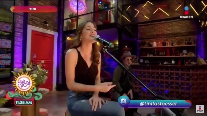 TINI - Princesa (En Sale El Sol en Mexico 19.06.2018)