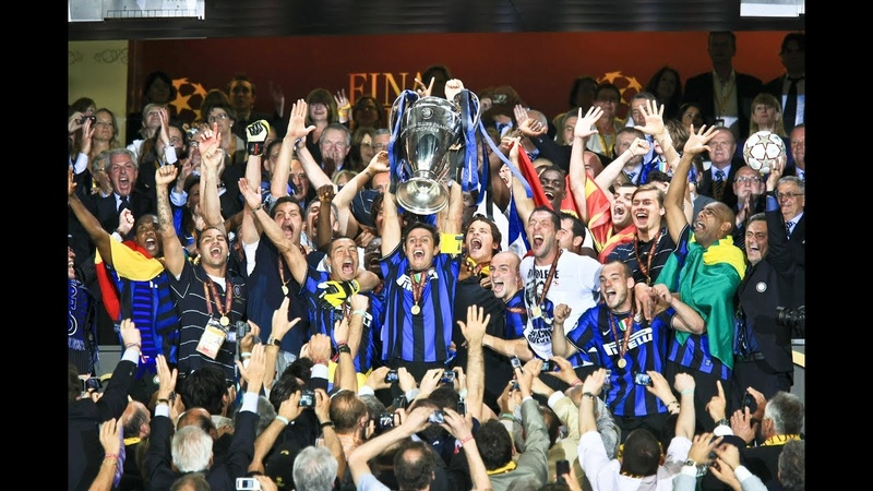 ON THIS DAY IN 2010 INTERS TREBLE! 🏆🏆🏆⚫🔵