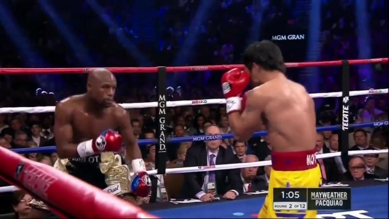 Floyd Mayweather vs Manny Pacquiao HD 720 БОЙ ВЕКА