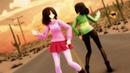 MMD Undertale Glitchtale Sand Planet Betty▫️Frisk▫️Chara▫️Asriel▫️Sans English Cover