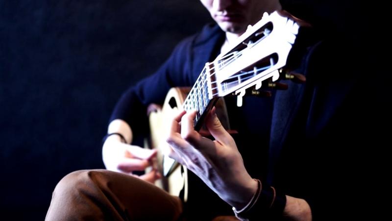 Lukasz Kapuscinski A Celtic Lore by Adrian von Ziegler Celtic Guitar Music