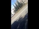 ДТП автобус и припаркованная Кио Рио