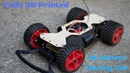 Fully 3D Printed RC Street Racing Car- 1 Week Classroom Project
