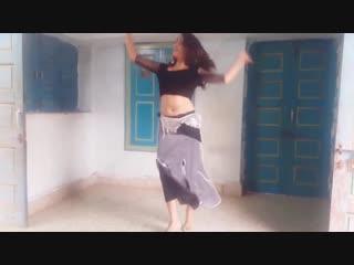 Belly dance on afghan jalebi indian girl dance