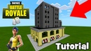 Minecraft: How To Make Trump Tower from Tilted Towers Fortnite
