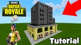 Minecraft How To Make Trump Tower from Tilted Towers