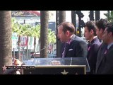 New Kids on the Block Walk of Fame Ceremony - YouTube