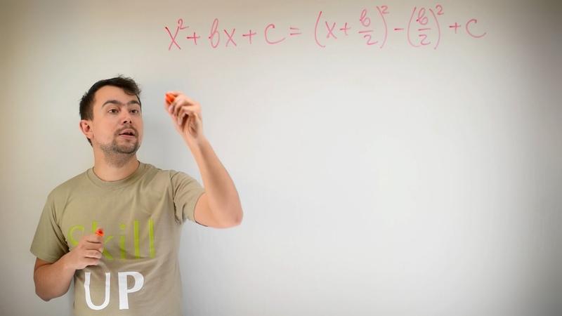 Математика Выделение полного квадрата