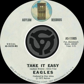 EAGLES альбом Take It Easy / Get You In The Mood [Digital 45]