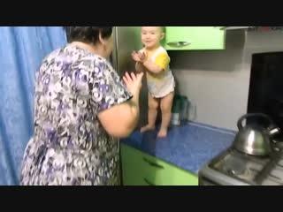 Диалог внучки с бабушкой (ВоК)