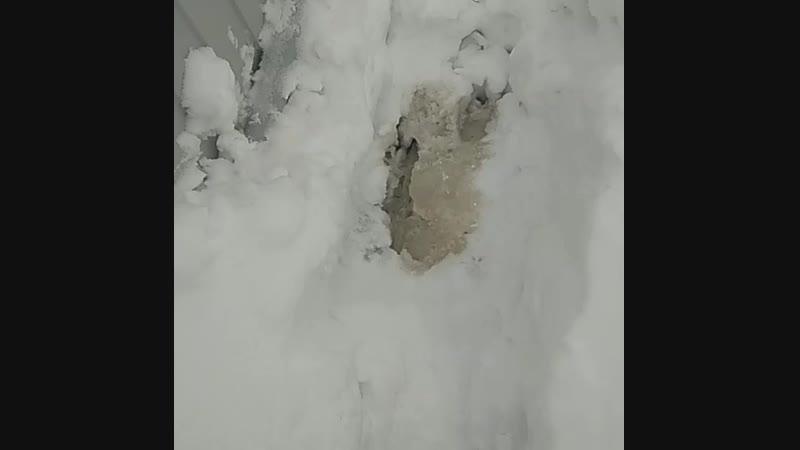 Отвод воды от автономной канализации, вода не замерзает!
