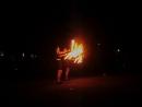 огненое шоу в Катунино видио огонь