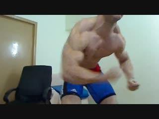 Hot muscle wrestle gear