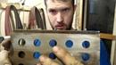 Черновая слесарка клинка и небольшой обзор прмспособы для спусков и компании Шлифторг. Мастерская Дм