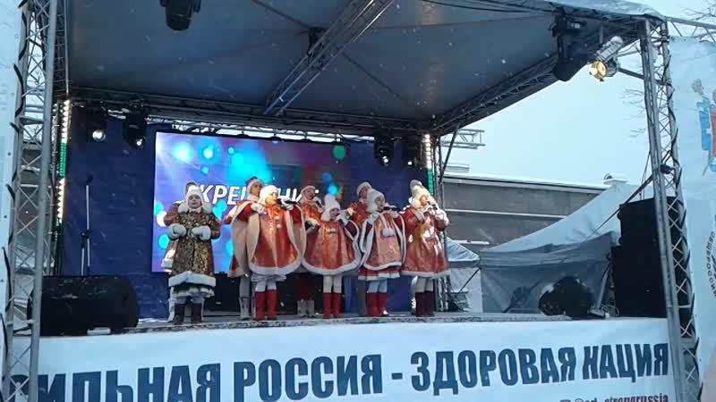 Праздник Крещение на Петропавловской крепости 19.01.2019