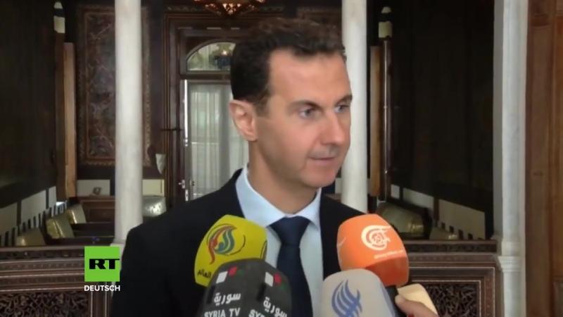 Ost-Ghuta und Afrin- Syrischer Präsident Assad nennt Westmächte Lügner und Erdogan Heuchler