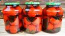 Вкусная и быстрая консервация нежные ПОМИДОРЫ с базиликом БЕЗ УКСУСА и стерилизации