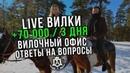 Лайв Вилки 70.000 руб/3 дня | Вилочный офис | Топ 5 вопросов по вилкам | Обучение вилкам