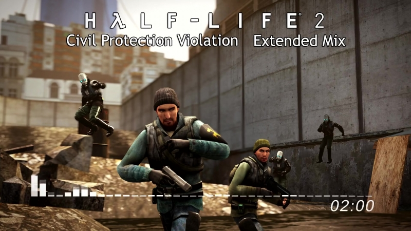 Half-Life 2 - CP Violation (Extended Mix)