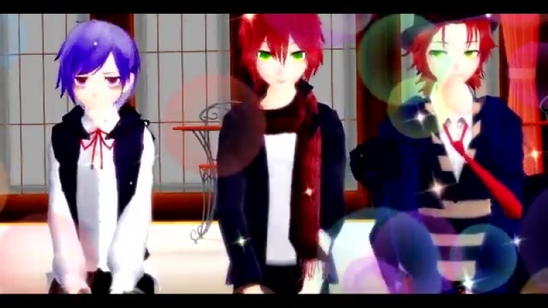 【MMD__Diabolik Lovers】Lets Groove! (Motion by R a c)