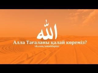 Алла Тағаланы қалай көреміз? ( Ризабек Баттаұлы - Дарын Мубаров және Дилмурат Абу Мухаммад )