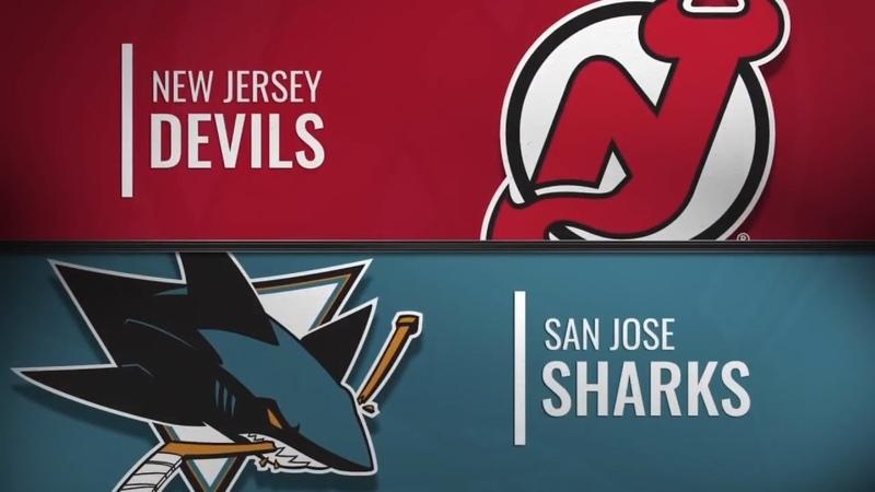 New Jersey Devils vs San Jose Sharks Dec 10 2018 NHL Game Highlights Обзор матча