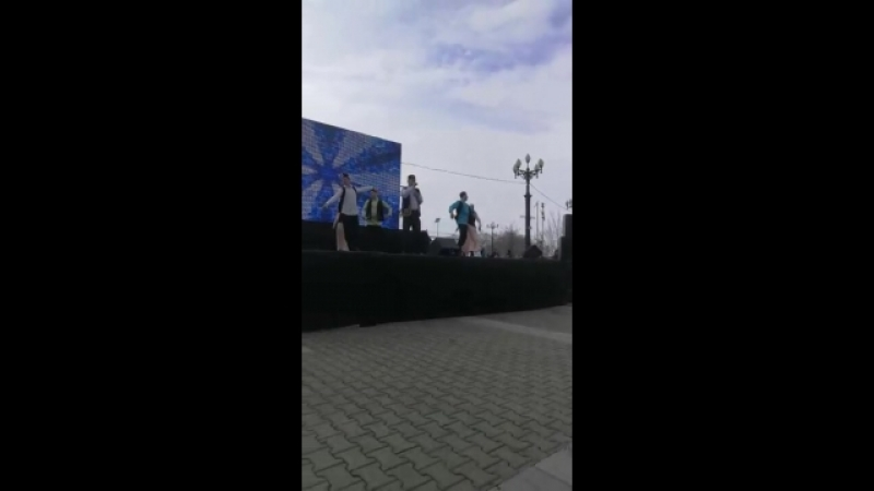 Хабаровск,Комсомольская площадь 18 марта 2018
