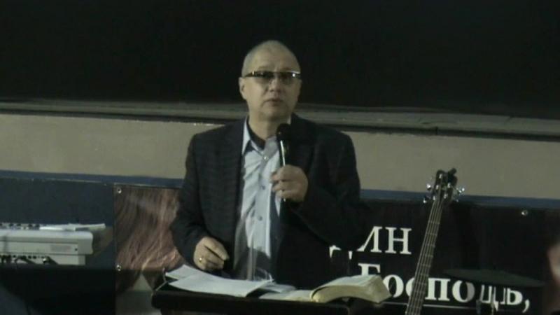 Пастор Анатолий Коряк - Что нужно знать и что исповедовать |15/04/18|