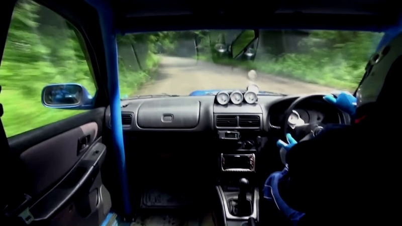 Subaru STI touge time attack