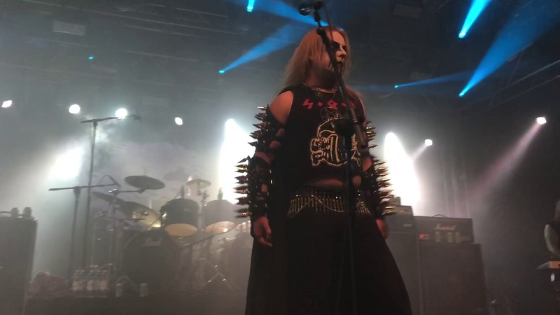 SATANIC WARMASTER Wolves of Blood and iron @ STEELFEST 2018, HYVINKAA, FINLAND