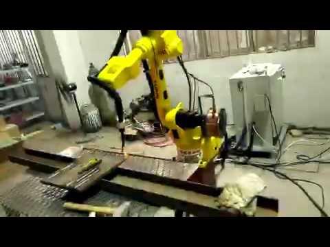 Welding robot ABK MACHINERY CO LTD