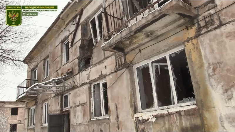 В результате обстрела ВСУ разрушен многоквартирный дом в пос. Донецкий