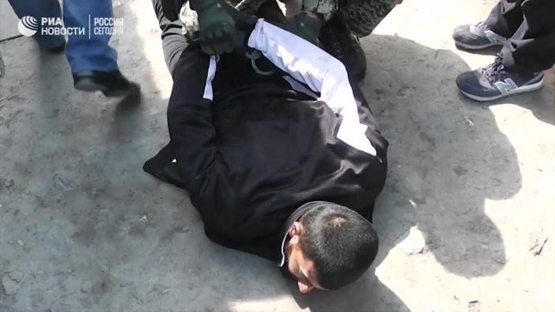 Спецоперация ФСБ по задержанию сторонников ИГ, готовивших теракт под Ростовом